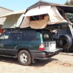 Rooftop Tent Vehicle